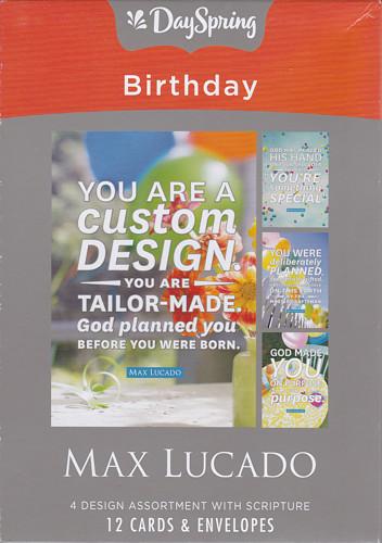 Birthday Cards Max Lucado You Are A Custom Design Box Of 12