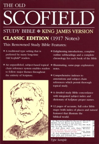 KJV Old Scofield Study Bible Classic Edition