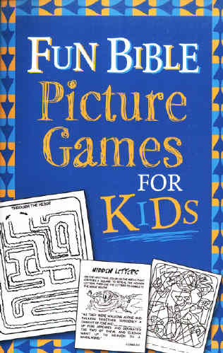 fun bible picture games for kids save ken vickie book icm books
