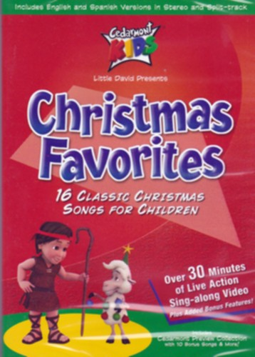 dvd cedarmont christmas favorites cms
