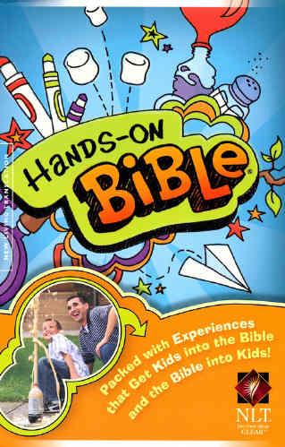 NLT Hands on Bible - Hardback