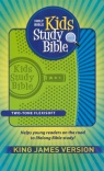 KJV - Kids Study Bible, Green / Blue Imitation Leather