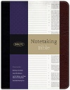 NKJV Notetaking Bible, Black / Brown Bonded Leather