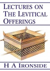 Lectures on the Levitical Offerings