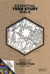 NKJV Personal Size Essential Teen Study Bible, Make-It-Your-Own LeatherTouch
