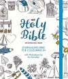 NIV Journalling Bible for Colouring In with Unlined Margins, Hardback Edition