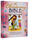 The Christening Bible, Pink Padded Hardback