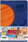 HCSB Big Picture Interactive Bible, Blue & Orange Imitation Leather