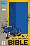NIV Backpack Bible, Blue Duo-Tone