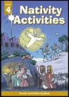 Nativity Activities, Book 4, Puzzle and Colouring Book