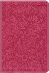 ESV Personal Reference Bible, Berry Floral Design, Trutone