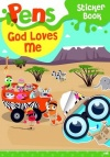 Pens Sticker Book - God Loves Me