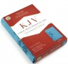 KJV Large Print Personal Size Reference Bible - Teal
