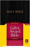 NLT Gift and Award Bible - Black - GAB