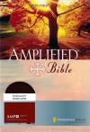 Amplified Bible, Expanded Edition, Burgundy Bonded Leather