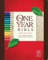 NLT One Year Bible Reflections Edition