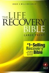 NLT Life Recovery Bible, Large Print Hardback Edition