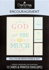 Cards - Encouragement - God Cares - 86072 (Box of 12)