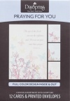 Praying for You Cards  - Butterflies (Box of 12)