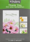 Sympathy Cards - Thank You for Your Sympathy (Box of 12 cards)