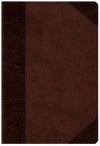 ESV Devotional Psalter, TruTone, Brown/Walnut, Portfolio Design