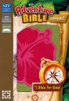 NIV Adventure Compact Bible, Green with Flower Design