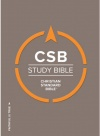 CSB Study Bible Hardback Edition