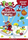 Pens Sticker Book - God