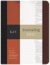 KJV Journaling Bible Black/Brown Bonded Leather