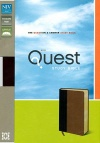 NIV Quest Study Bible, Burgundy & Tan