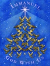 Christmas Cards - Tree of Doves - Pack of 10 - CMS