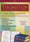 ESV Thompson Chain-Reference Bible, Black Bonded Leather