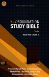 KJV Foundation Study Bible, Imitation leather, Earth Brown, Thumb Indexed