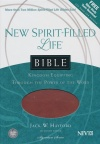 NIV New Spirit Filled Life Bible, Butterscotch/Auburn, Imitation Leather
