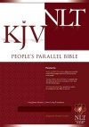 KJV / NLT Peoples Parallel Bible, Burgundy Bonded Leather