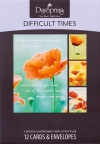 Difficult Times  Cards  - Box of 12 Cards