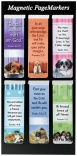 Magnetic Bookmark - Puppy Pagemarkers (pk of 6)