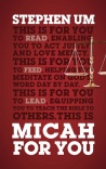 Micah for You, Acting Justly, Loving Mercy - GBFY