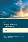 Bible Knowledge Commentary - Law