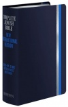 Complete Jewish Bible CJB / NIV Side-by-Side Reference Edition, Dark Blue Flexisoft