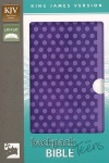 KJV Backpack Bible for Teens, Purple Polka Dot
