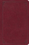 ESV Single Column Gospel Transformation Bible, Burgundy Geniune Lthr