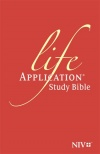 NIV Life Application Study Bible, Anglicised Black Bonded Leather Edition