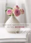 Card - May God Watch Over You as Your Recover, Single Card