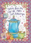 Card - Drink From the Cup of Life's Rich Blessings, Single Birthday Card