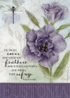 Get Well Card - Eustoma - Psalm 91 vs 4