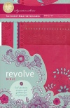 NCV Revolve Devotional Bible, Raspberry Imitation Leather