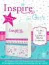 NLT Inspire Bible for Girls, Pink Leatherlike Hardback Edition