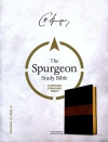 CSB Spurgeon Study Bible,Black and Brown LeatherTouch