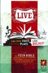 NLT Live Deluxe Leatherlike Teen Bible